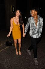 Rebecca Gormley and Biggs Chris are seen heading to a pub in Newcastle