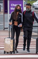 Rebecca Gormley and Biggs Chris Head Off On Holiday In Matching Tracksuits