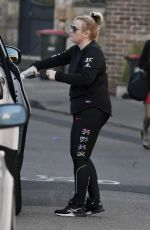 Rebel Wilson Shows off her slim figure in activewear in Sydney
