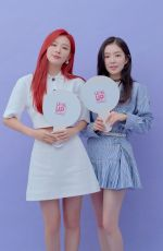 Red Velvet (Irene & Seulgi) At Level Up! Thrilling Project Press Conference