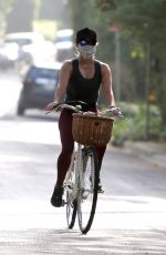 Reese Witherspoon Out bike riding in Brentwood