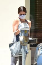 Roselyn Sanchez Outside a medical building in Los Angeles