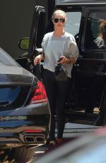 Rosie Huntington-Whiteley Arriving at a gym in West Hollywood