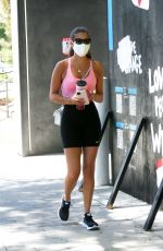 Sara Sampaio Going to the gym in LA