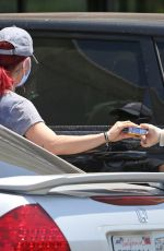 Sharna Burgess Shows off her athletic frame on a grocery run in Los Feliz