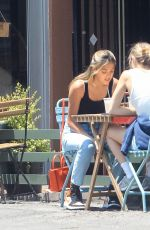 Sistine Stallone Having Lunch in Beverly Hills