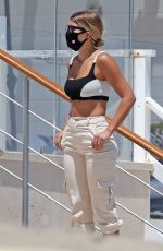 Sofia Richie and Scott Disick enjoy 4th of July together on the beach In Malibu