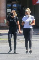 Sofia Richie Goes out for an organic juice with a friend in Malibu