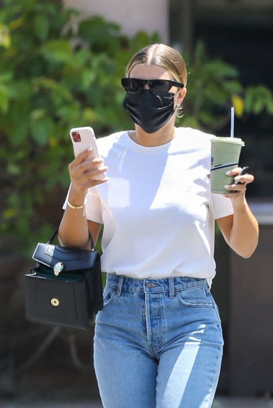 Sofia Richie Out with friends in Malibu