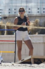 Sofia Richie Spends the afternoon at the beach in Malibu