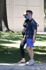 Sophie Turner and Joe Jonas head out on a stroll in Los Angeles