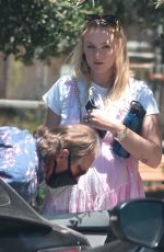 Sophie Turner At a picnic in Studio City