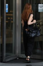 Stacey Dooley Makes a brief visit dressed in black to BBC studios