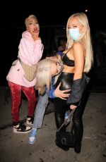 Tana Mongeau Out with friends in West Hollywood