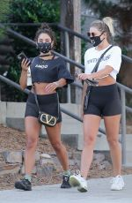 Vanessa Hudgens Leaves a gym in West Hollywood