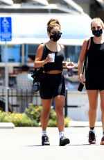 Vanessa Hudgens Leaving a gym in West Hollywood