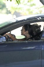Vanessa Hudgens Seen out cruising with a friend in Hollywood