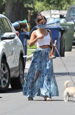 Vanessa Hudgens Visiting a friend in LA