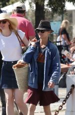 Vanessa Paradis Spends some quality time in the south of France