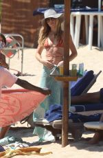 Abbey Clancy and Peter Crouch enjoying holidays in Sardinia