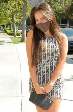 Addison Rae Enjoys a lunch date in West Los Angeles