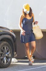 Adria Arjona Seen dropping off clothes at the dry cleaners in Los Angeles