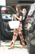 Alessandra Ambrosio Arriving on set of a new project in Los Angeles