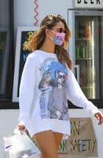 Alessandra Ambrosio Grabbing some take out lunch in Malibu