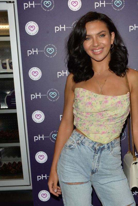 Alexandra Cane At Power of Health Cafe Re-opening Party in Cockfosters