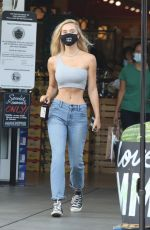 Alexis Ren Shops at Bristol Farms in Beverly Hills