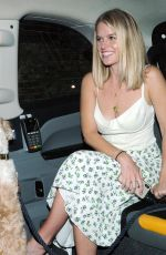 Alice Eve Outside Chiltern Firehouse in London