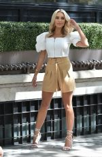 Amber Turner At a Boohoo Photoshoot in London