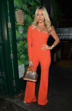Amber Turner At Club L Summer Launch Event in North London