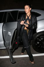 Anastasia Karanikolaou Shows off her amazing curves as she arrives to dinner in Beverly Hills