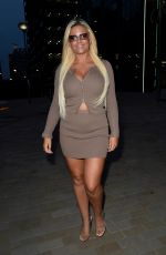 Apollonia Llewellyn Enjoys a night out at Menagerie in Manchester