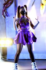 Ariana Grande Performs during the 2020 MTV Video Music Awards in New York City