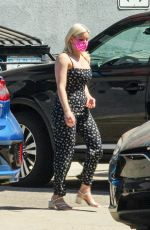 Ariel Winter Stops for a quick visit to a studio in Los Angeles