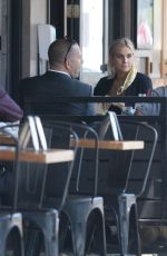 Ashlee Simpson At Tipsy Cow in Sherman Oaks