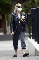 Ashley Benson Out getting coffee in Studio city