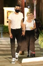 Ashley Benson Out to dinner with boyfriend G-Eazy in Los Angeles