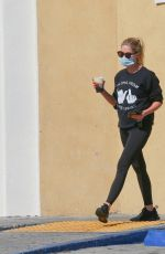 Ashley Benson Stops by Starbucks in Hollywood