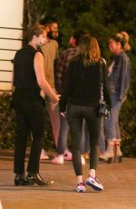 Barbara Palvin & Dylan Sprouse Out celebrating his birthday with friends in West Hollywood
