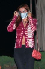 Bella Thorne Out for Dinner at Nobu in Malibu