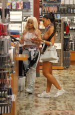 Blac Chyna and Toochi Kash make a late night shopping trip to world famous Sex Toy Store in Hollywood