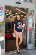 Blanca Blanco Steps out to shop at her local CVS Pharmacy while grabbing a coffee this morning in Los Angeles
