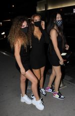Brighton Sharbino At Boa Steakhouse in West Hollywood