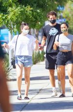 Camila Mendes Seen getting some drinks before heading to a medical clinic in West Hollywood