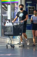Camila Mendes Show some PDA while shopping at Bed Bath & Beyond with her boyfriend in Hollywood