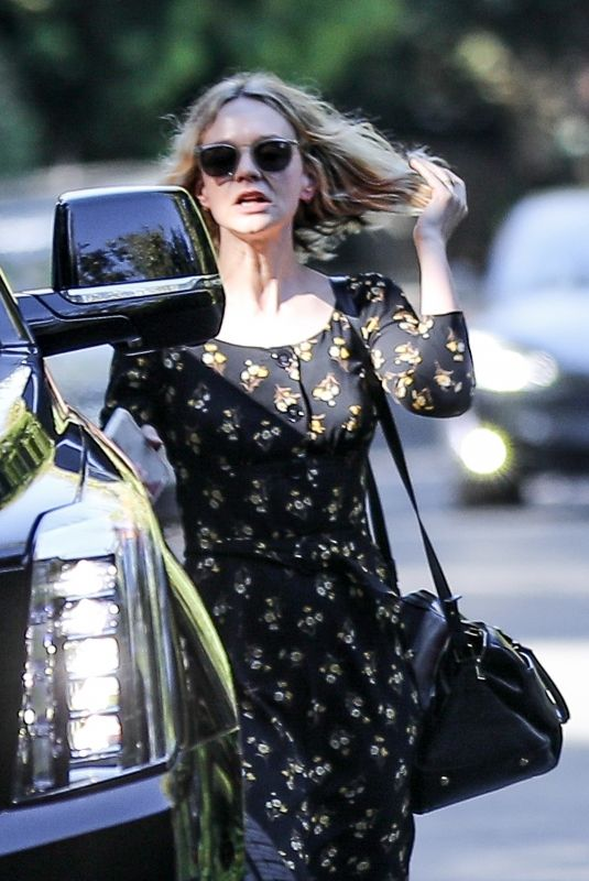 Carey Mulligan Out in Palisades