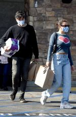 Charli XCX Grocery shopping at Gelson